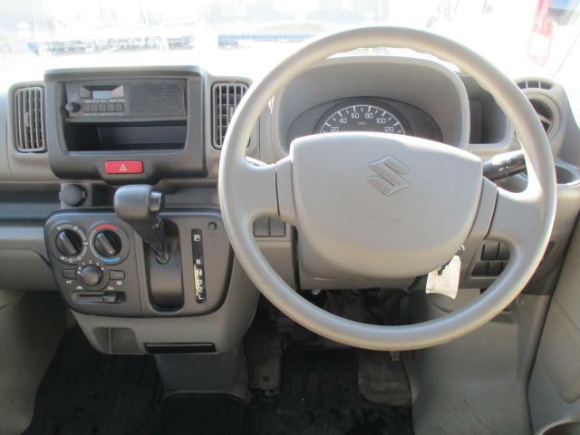 運転席操作部画像です。