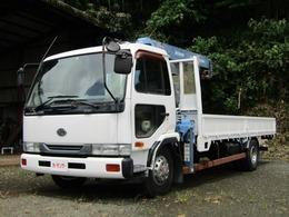UDトラックス コンドル 6.9ディーゼル 6速MT タダノ3段クレーン コード付き