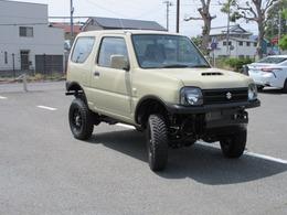 スズキ ジムニー 660 XG 4WD ベージュ・ボディリフト・社外バンパー