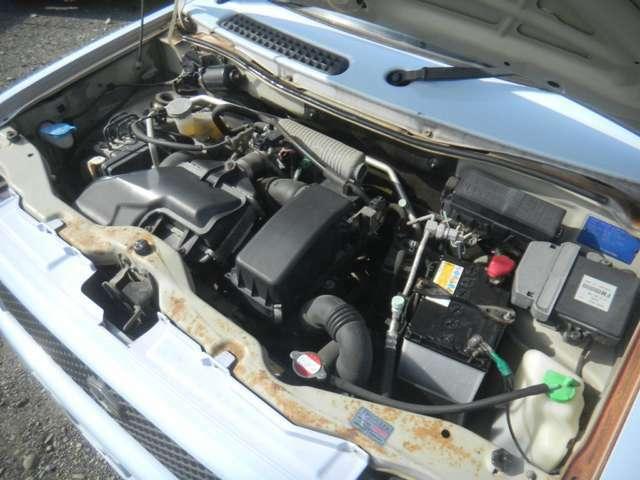 K6Aツインカムターボエンジン搭載!!
