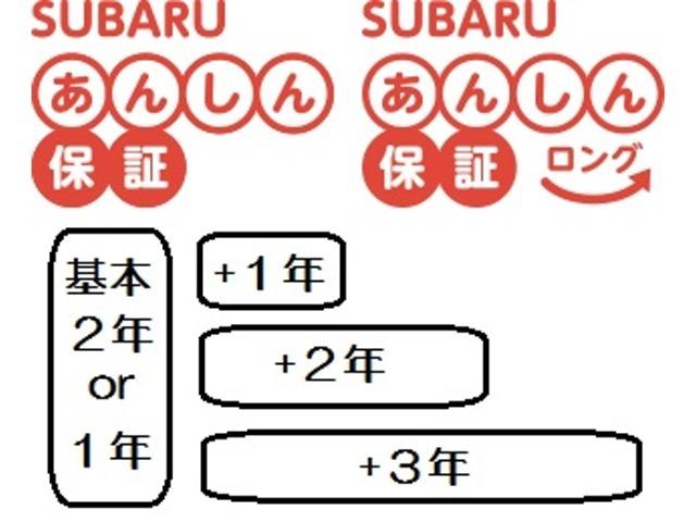 Aプラン画像:大切なお車をより長く安全にお使いいただきために、通常の「SUBARUあんしん保証」を延長できる、有料延長保証付きプランをご用意いたしました!
