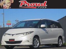 トヨタ エスティマ 3.5 アエラス 黒革調/HDD/Bluetooth/Bカメ/後席M/車検2年