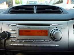 CDプレイヤー。CDは動作不可。ラジオは聴けます。まもなく可動のオーディオに変更予定。