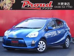 トヨタ アクア 1.5 G /車検2年含/禁煙車/メモリーナビ/TV/ETC