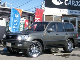 トヨタ ランドクルーザー100 4.7 VXリミテッド 4WD マルチレス背面レスフルセグ22インチAW