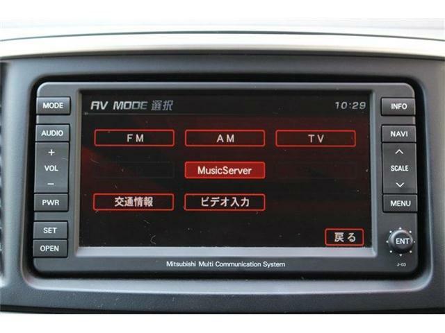 HDDナビ付きです♪ミュージックサーバー機能もご利用いただけます☆