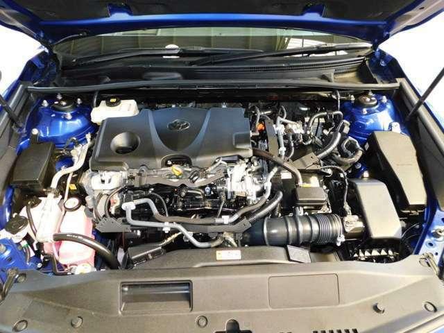 2,500ccダイナミックフォースエンジン+ハイブリッドシステム