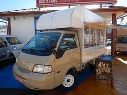 日産 バネットトラック 1.8 DX ロング ダブルタイヤ 新規製作オリジナルキッチンカー