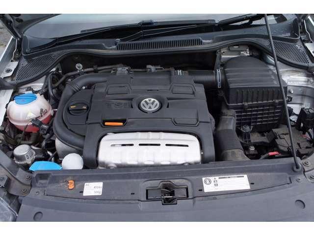 1.4L TSI ツインチャージャーエンジンは179ps 250nm を発揮 7速DSGの組み合わせでパワフルで軽快な走りを楽しめます