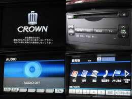 お出掛け嬉しい、メーカーOPナビ(フルセグ地デジTV)付です♪DVDビデオ再生機能・音楽録音機能・USB/Bluetooth接続も可能です♪