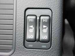 運転席&助手席シートヒーター機能付き♪ 冬場の冷たいシートもこれで安心ですね♪