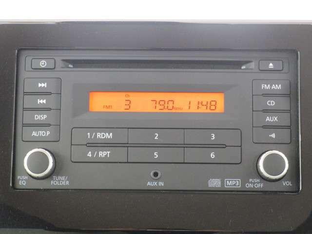 三菱純正CDラジオです。