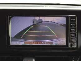 【バックカメラ】ドライバーの死角になる後方下部をフォロー。ガイドライン付きなので駐車も楽々。