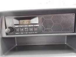 AM/FMラジオ付