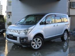 三菱 デリカD:5 2.4 G プレミアム 4WD MMCSナビ/後席モニター/ロックフォードS