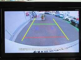 バック時は ナビのモニターにて 後方の安全を確認出来ますので バックの運転が楽になります