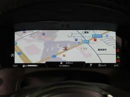 バーチャルインストゥルメントパネル『フルスクリーンの3Dマップの表示が行えます。』E-PACEのドライビングの喜びを一層高める機能です。
