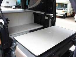 2列目シートはテーブルとしても使用可能です。