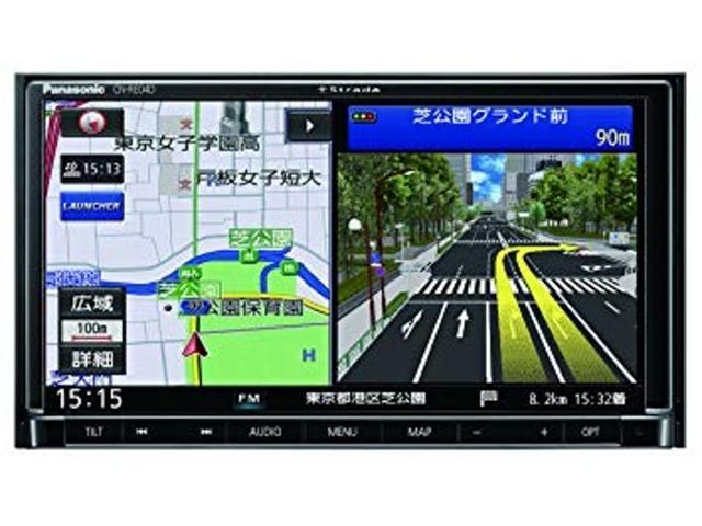Bプラン画像:フルセグのテレビはもちろん、DVDも見れて、Bluetooth機能もついて、SD録音もできる機能充実ナビ。