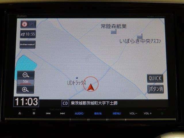 ホンダ車だけの新しいカーライフサービス「インターナビ・リンク」対応の純正メモリーナビです!!リアルタイムな渋滞情報を受信して、快適なドライブをお楽しみいただけますよ♪