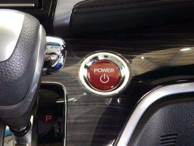 エンジンのスタート/ストップはこのボタンをワンプッシュするだけです!