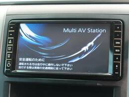 純正ナビ!!DVD再生やTVの視聴も可能です☆高性能&多機能ナビでドライブも快適ですよ☆