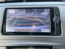 バックモニターはガイドラインもついていますので、駐車時に便利です!