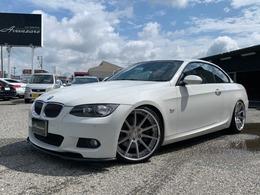 BMW 3シリーズカブリオレ 335i Mスポーツパッケージ 車高調 SSR20 パワークラフトマフラー