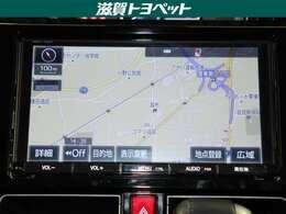 トヨタ純正ディ-ラ-オプションナビゲ-ション装着車です。大型モニタ-ですので、地図画面やTVなど見やすいですよ。