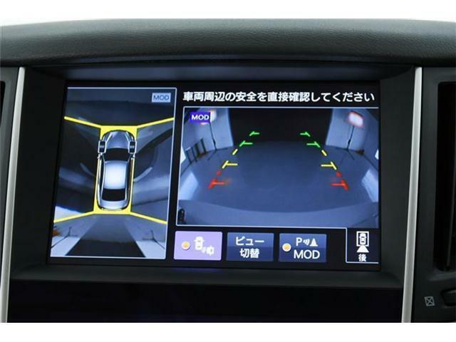【アラウンドビューモニター】搭載!!フロント・サイド・バックに全周囲と運転が苦手なママさんでも安心です。