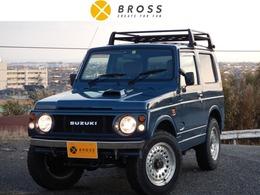 スズキ ジムニー 660 ワイルドウインド 4WD 4WD ルーフキャリア 茶シートカバー AW