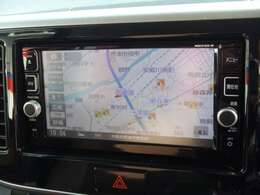 日産純正メモリーナビ 地デジTV付きです。CD, DVDビデオも再生可能です。Bluetooth,usb対応です