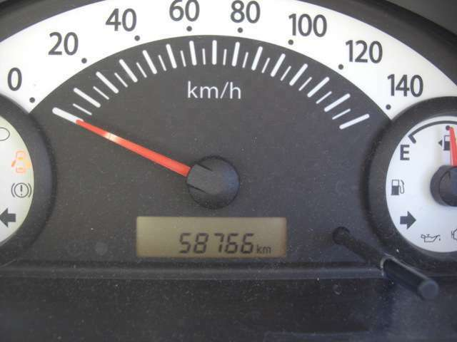 メーター!58766キロ!走行少なめ!