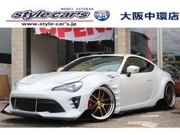 トヨタ 86 2.0 GT BNSPORTSフルエアロ HKSス-パ-チャ-ジャ-