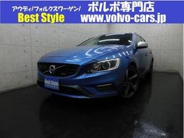 ボルボ V60 T4 Rデザインポールスター&セーフティpkg 2014モデル/黒革/純ナビ/F&Bカメラ/ETC/保