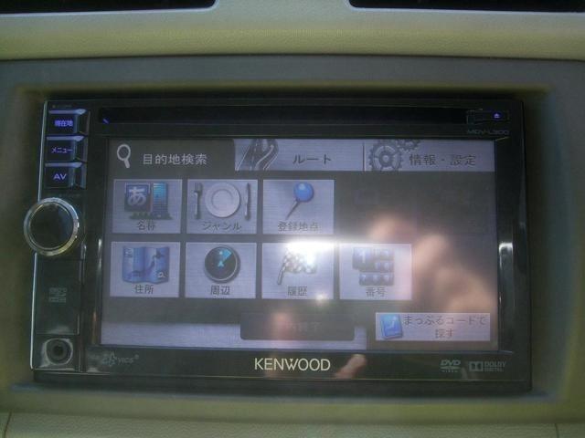 ナビ ワンセグTV CD ラジオ AUX入力