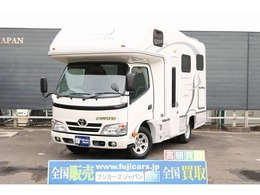 トヨタ カムロード キャンピング ナッツRV クレソン ボヤージュ 常設ベッド FFヒーター