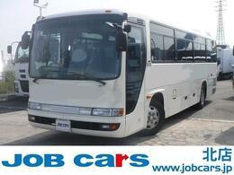 日野自動車 メルファ 観光バス 29人乗 6列 補助席3席 全席モケリク 後部荷室