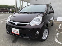トヨタ パッソ パッソ X-Lパッケージ オートライト・キーレス・小豆色