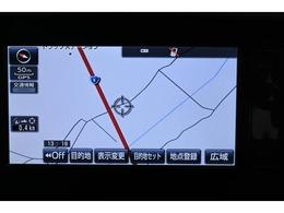純正SDナビゲーション(NSZN-W64T)  詳細地図も入っているので、初めて行く場所も道に迷うことなく安心です。