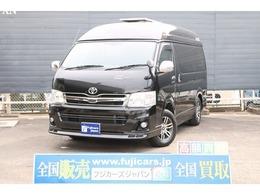 トヨタ ハイエース キャンピング ナッツRVリーク 4WD フルベイウィンドー FFヒーター 冷蔵庫