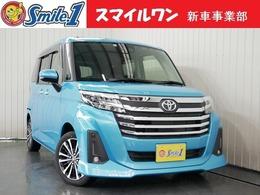 トヨタ ルーミー 1.0 カスタム G-T 新車/装備10点付 7型ナビ ドラレコ