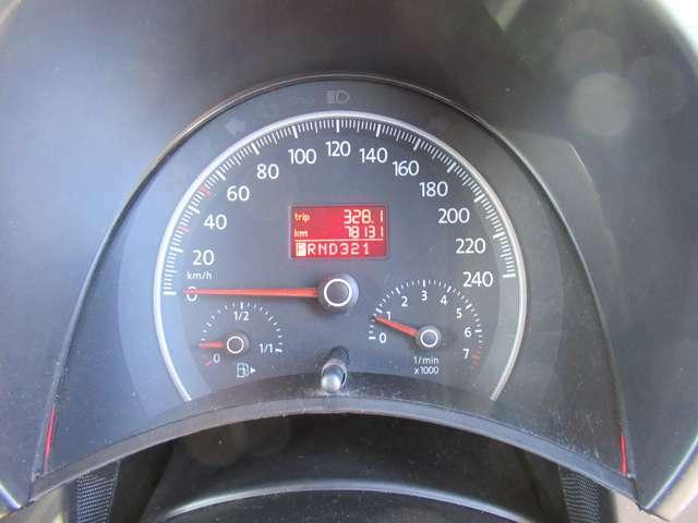 シンプルで見やすいスピードメーター!