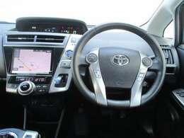 【インパネ】 センターメーターなので運転中の視線移動が少なくなります。