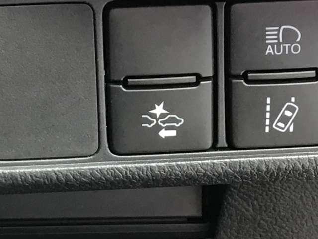 衝突軽減ブレーキでもしものときも安心です。保険料でもお得になる今はMUSTな装備のひとつです