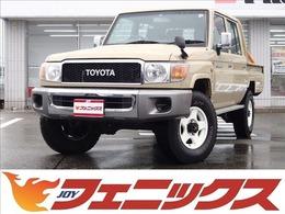 トヨタ ランドクルーザー70ピックアップ 4.0 4WD 前後デフロック ナビTV バックカメラ