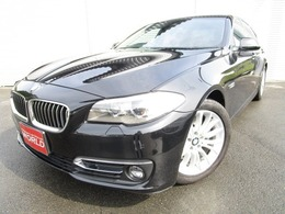 BMW 5シリーズ 523i ラグジュアリー サンルーフ 黒本革シート 保証付
