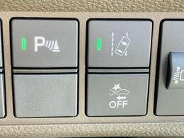 【 パーキングソナー 】パーキングソナーが装備されております♪障害物を検知しドライバーに知らせてくれるので狭いスペースへの駐車時など、衝突回避にお役立てくださいませ♪