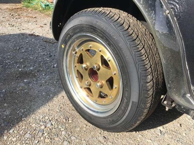 タイヤ4本新品に交換しました。