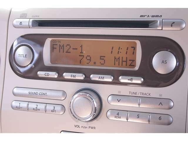 AM/FM/CDチューナーデッキ♪